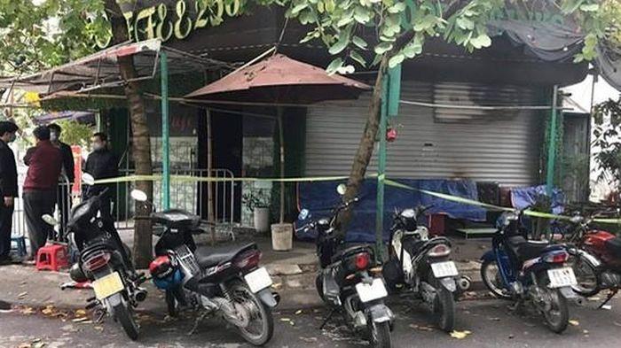 Cháy quán cà phê, một phụ nữ tử vong