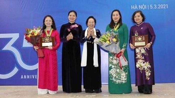 Tôn vinh tài năng, sức sáng tạo của những nhà khoa học nữ Việt Nam