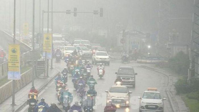 Thời tiết hôm nay: Miền Bắc tăng nhiệt, có mưa phùn và sương mù