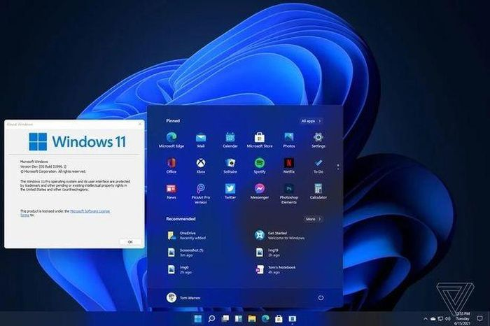 Lộ diện giao diện của Windows 11