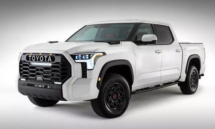 Toyota bất ngờ công bố thiết kế của Tundra 2022