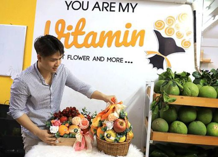 Khởi nghiệp với hoa trái cây