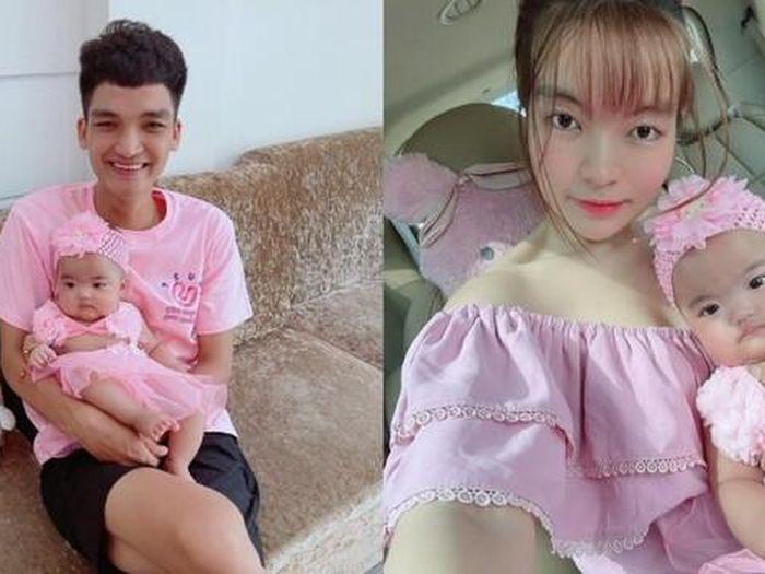 Bà xã Mạc Văn Khoa và bé Minnie 'chơi nổi' khi diện đồ xanh chuối, netizen khen ngợi không ngớt